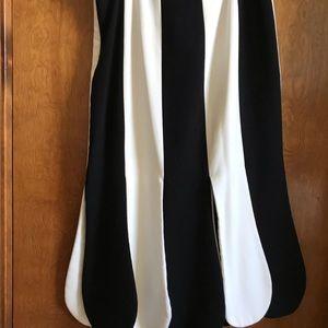 Victoria Beckham for Target black and white skirt